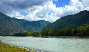 "Sergey Menyailo: Special Economic Zone ""Biruyzovaya Katun"" - a project, which promotes the increase of economy and the interest in Altai Krai"