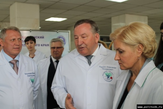 Expert evaluation of the medical cluster Altai region